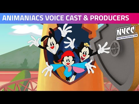 It's time for AN-I-MAN-IACS! Voice Cast & Producer Panel