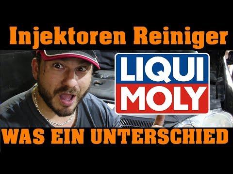 Liqui Moly - Injection Reiniger / VW Golf ausbau der Injektoren nach 1200 km