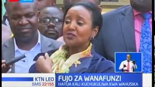 Wanafunzi 10 wa shule ya sekondari katika kaunti ya Kisii wamefikishwa katika mahakama