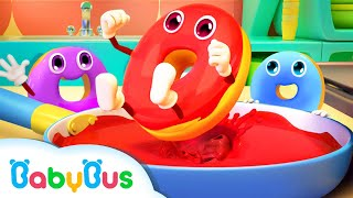 Learn Colors with Donuts   Numbers Song   Nursery Rhymes   Baby Songs   BabyBus Arabic
