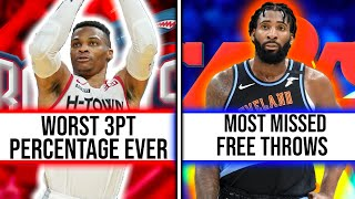 The WORST NBA Records Held By Current Day Players