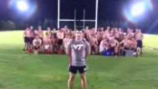 VT Men's Rugby ALS Ice Bucket Challenge