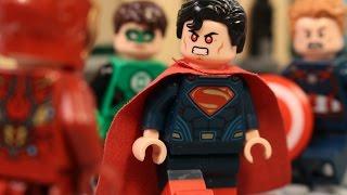 Lego Justice League vs The Avengers