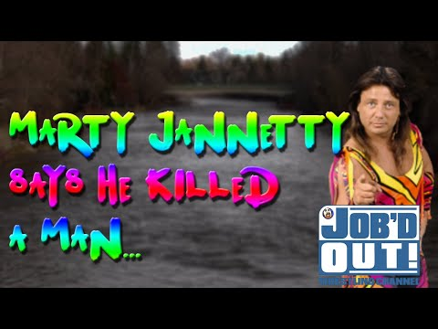 "MARTY JANNETTY says he ""made a man DISAPPEAR"", THREATENS A WOMAN"