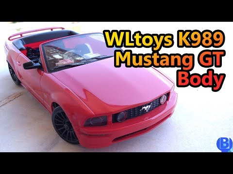 How to fit Mustang body on WLtoys 1/28 K989