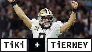 Drew Brees OWES The Saints One More Season | Tiki + Tierney
