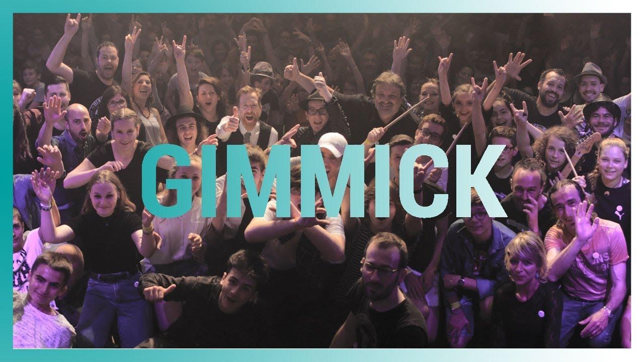 Gimmick est un projet collectif de création musicale conçu et réalisé par Des Lendemains Qui chantent et le Conservatoire à Rayonnement Départemental de ...