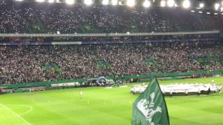 2016-17 Champions League - Sporting Lisbon vs Borussia Dortmund - Pregame atmosphere