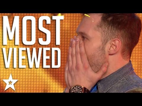 TOP 10 MOST VIEWED Britain's Got Talent Auditions!   Got Talent Global (видео)