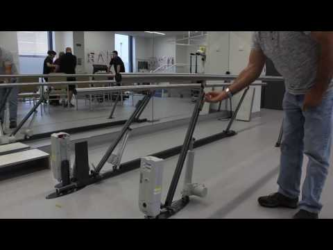 Electric Height Adjustable Parallel Bars / Walking Rails | ACCESS