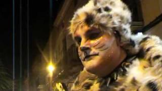 preview picture of video 'CANET DE MAR carnaval 2010 RUA LOS MONTOYA 4-4'