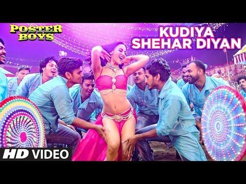 Download Kudiya Shehar Diyan Song | Poster Boys | Sunny Deol, Bobby Deol, Shreyas Talpade, Elli AvrRam HD Mp4 3GP Video and MP3