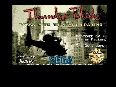 Thunder Blade Amiga