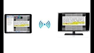 Apple TV Hardware Setup for Wireless Presentation