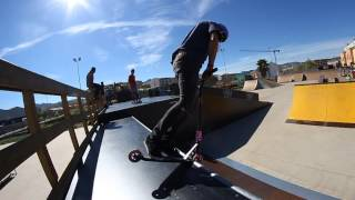 preview picture of video 'Fran Simon vs Skatepark Onda'