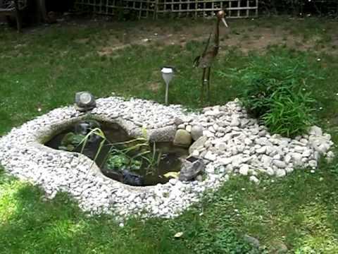 Teich, Brunnen und Paulchen