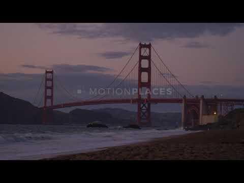 Golden gate bridge. San-Francisco.