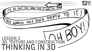 Drawabox Lesson 2, Part 1: Thinking in 3D