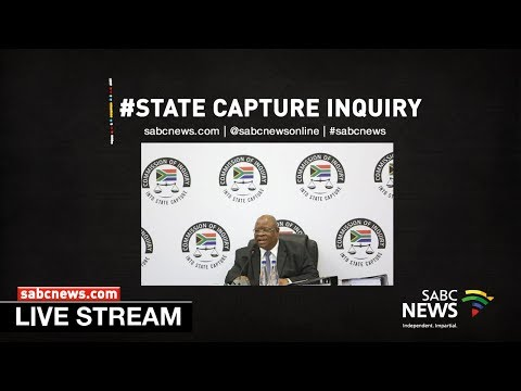 [LIVE] State Capture Inquiry, 21 January 2020 Part 2