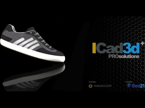 iCAD3D+ Pro 2018 Footwear Design Software Work All Windows 10-8-7 32Bit 64Bit