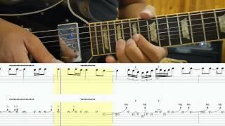 Joe Bonamassa - Different Shades Of Blue - Solo tutorial with TAB - by Itamar Hazi Shalev