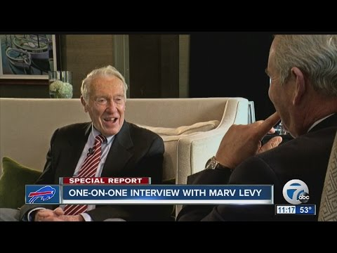 One-On-One interview with Marv Levy