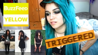 "EMO REACTS TO ""I Dressed Emo For A Week"" by BuzzFeedYellow 