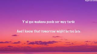 Mañana Es Too Late English Lyrics Translation Jesse & Joy and J Balvin (Letra/Lyrics)