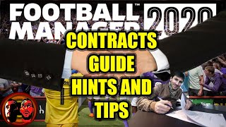 CONTRACT NEGOTIATIONS   FM20 Tips   HINTS AND TIPS   GUIDE