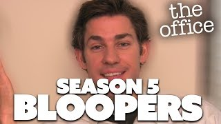 Season 5 Bloopers | The Office US | Comedy Bites