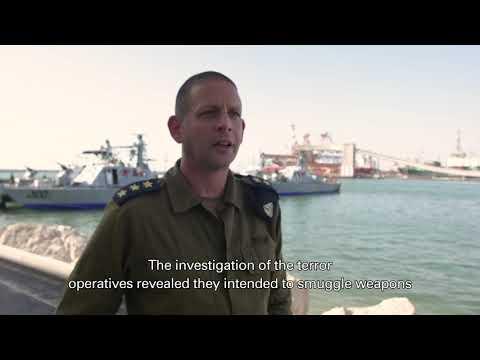 YouTube Video - La Marina israelí frustra intento de contrabando de armas a la Franja de Gaza