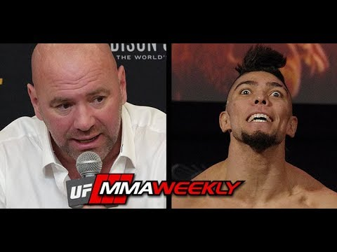 """Dana White Message to Johnny Walker: You Can't """"Goof Around Like That""""  (UFC 244)"""