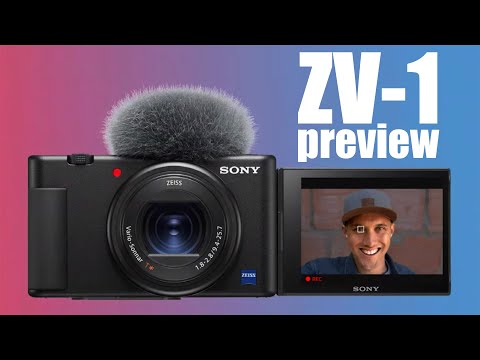 External Review Video 92TGIxE30cE for Sony ZV-1 Vlog Compact Camera