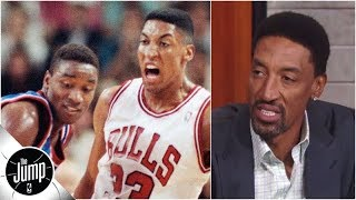 Scottie Pippen admits early Bulls tried to dodge Pistons in playoffs (plus, Blazers talk) | The Jump