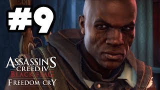 Assassin's Creed 4 - Freedom Cry DLC Walkthrough Part 9 - Memory 9: de Fayet's Last Stand