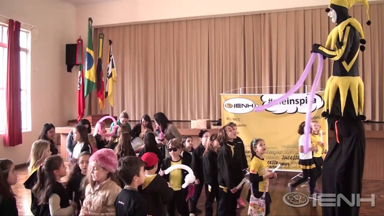 Ação de Volta às Aulas 2014/02 IENH #educaçãoqueinspiravocê