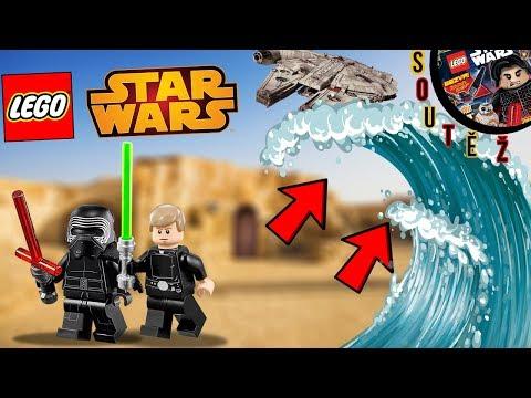 LEGO STAR WARS SVĚT VS ZKOUŠKA OBROVSKÉ TSUNAMI + SOUTĚŽ !!! - w/ McCitron