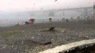 Смотреть онлайн Ураган в Новосибирске 15 июля