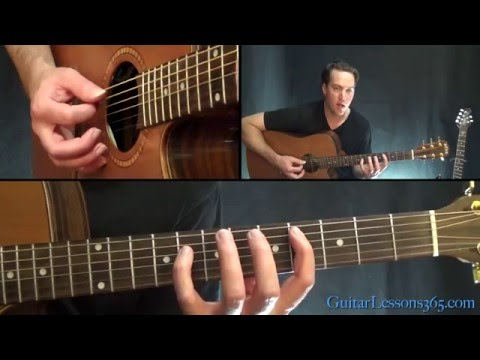 Satellite Guitar Lesson - Dave Matthews Band