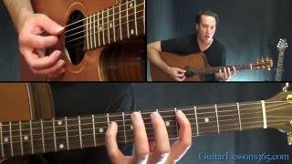 Satellite Guitar Lesson - Dave Matthews Band
