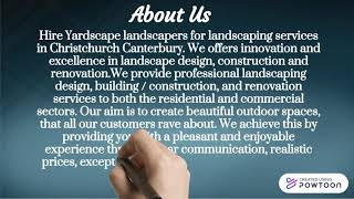 Landscaping in Christchurch NZ