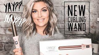 MESSY CURLS HAIR TUTORIAL | New Lange Wand
