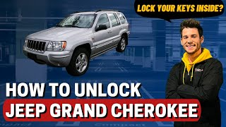 How to Unlock: 2003 Jeep Grand Cherokee (without a key)