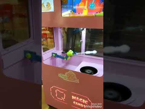 Вендинговый аппарат для фигурной сладкой ваты ТМ - 4000 (CottonCandy DIY Vending)