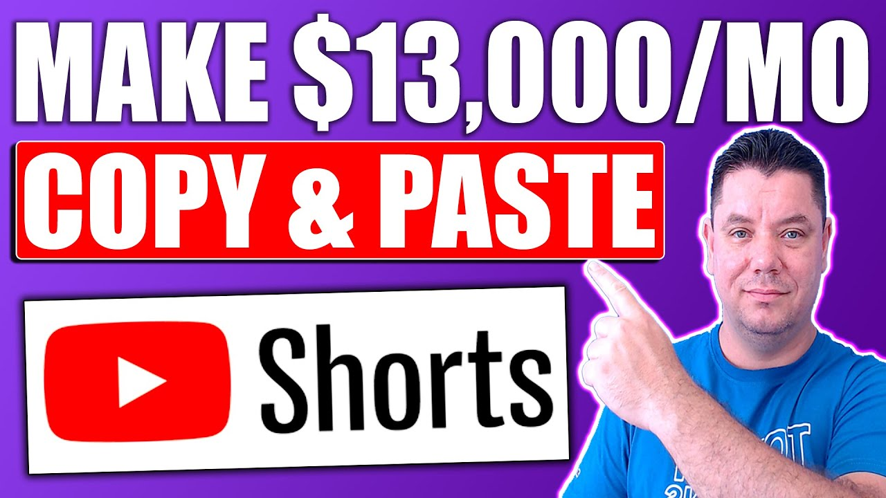 Copy & Paste YouTube Shorts And Make $13,000/ Mo Without Making Videos 2021 (COMPLETE TUTORIAL) thumbnail