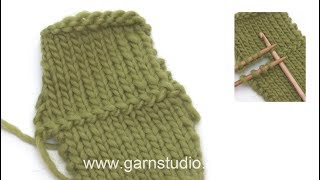 How to crochet 2 knitted pieces together