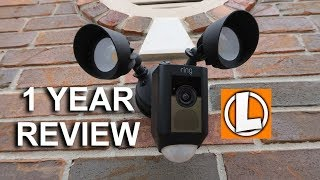 Ring Floodlight Security Camera  -  1 Year Long Term Review Update
