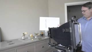 Focusing the view camera using the Scheimpflug Principle
