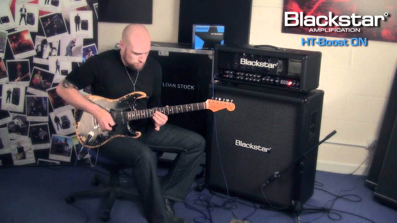 Blackstar HT-BOOST Video