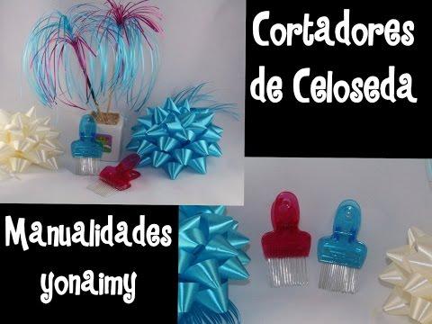 COMO HACER CORTADORES DE CELOSEDA .